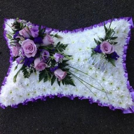 Purple & Pink Pillow
