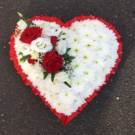 Red & White Heart