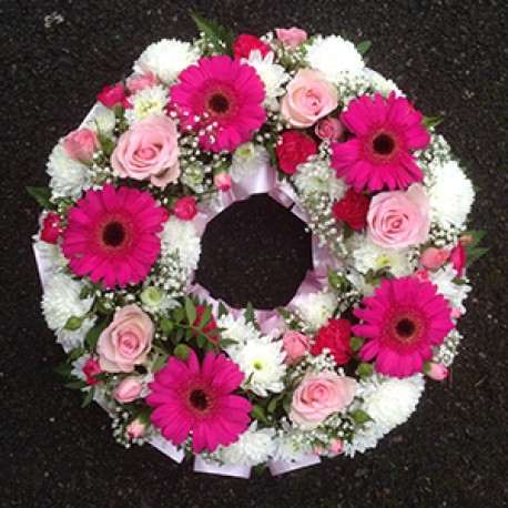 Pink Wreath Ring