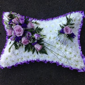 Purple & Pink Pillow