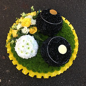 Crown Green Bowls Posy Tribute