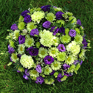Lime & Purple Posy Pad